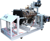 Стенд горячей обкатки двигателя - СОД 1001.0000.000 - Стенд горячей обкатки двигателей КАМАЗ и ЯМЗ