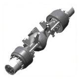 Приспособления для ремонта грузовых автомобилей - Комплект инструмента для ремонта заднего моста фирмы Мадара
