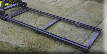 Оснастка для кантователя - ЛПН-089.01.000 - Колея (L=2 метра)