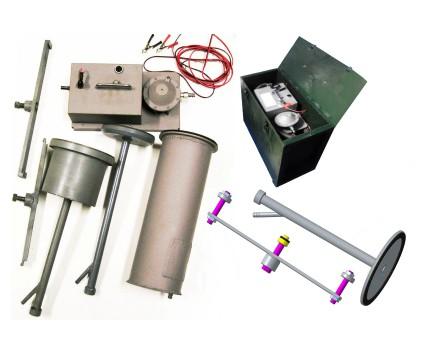 - Комплект приспособлений для проверки герметичности воздушного тракта